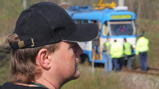 Řidič tramvaje, který nezavinil srážku, pracuje u Dopravního podniku v Ostravě už 15 let