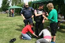 Na nejlepší účastníky projektu Malá policejní akademie čekalo zábavné dopoledne plné soutěží.