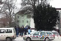 Místo, kde v byl nalezen v Klimkovicích zavražděný muž