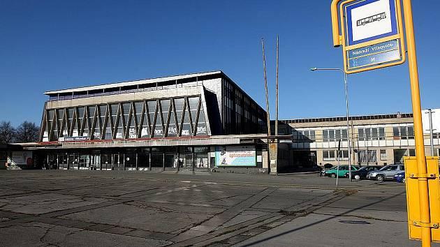 Budova vítkovického nádraží. Ilustrační foto.