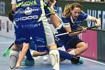 Superfinále play off florbalové superligy žen: 1. SC Tempish Vítkovice - Fetpipe Florbal Chodov, 14. dubna 2019 v Ostravě. Na snímku (vpravo) Veronika Enenkelová.