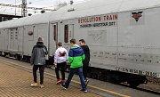 Revolution train - protidrogová prevence.