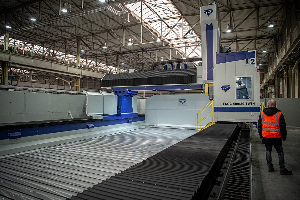 V polovině ledna 2021 začalo ve společnosti Škoda Vagonka v Ostravě fungovat největší obráběcí centrum v Evropě za asi 100 milionů korun.