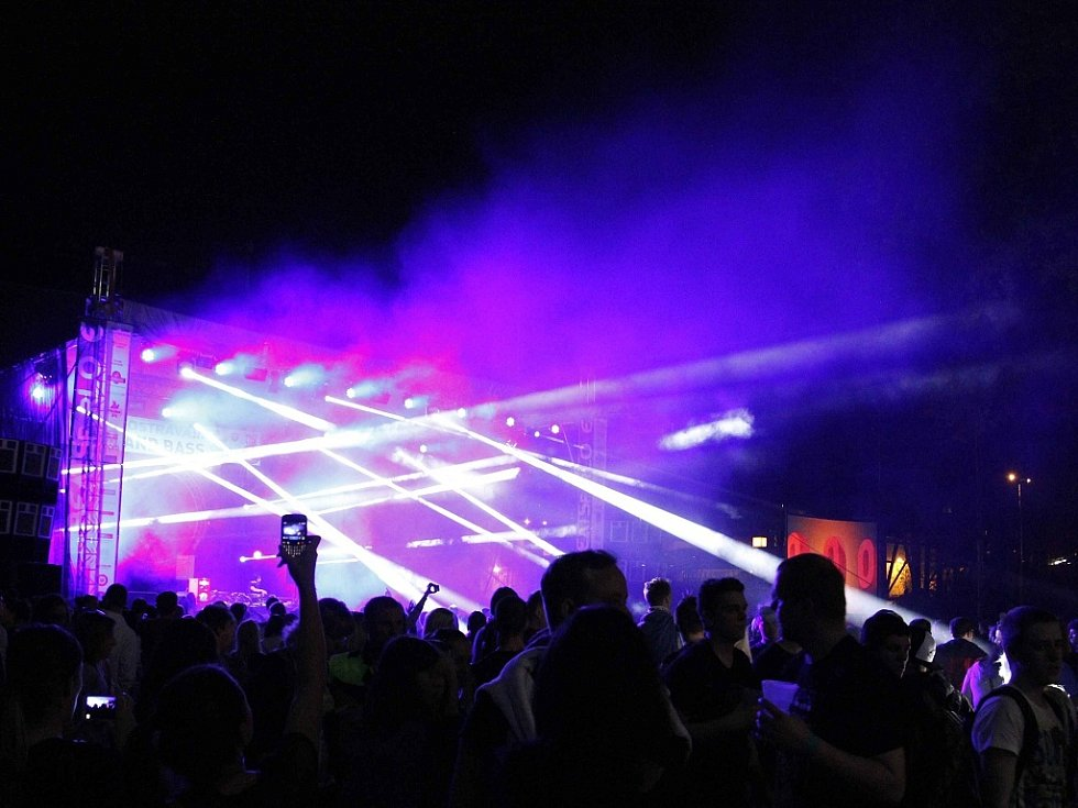 První den Beats for Love v Ostravě.