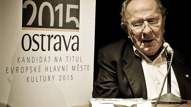 Ota Filip byl také hostem Měsíce autorského čtení.