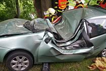 Tragická dopravní nehoda v Nové Vsi