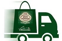Sýrarny La Formaggeria Gran Moravia nabízí rozvoz potravin.