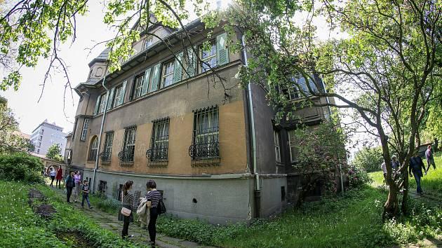 Grossmannova vila v Ostravě.