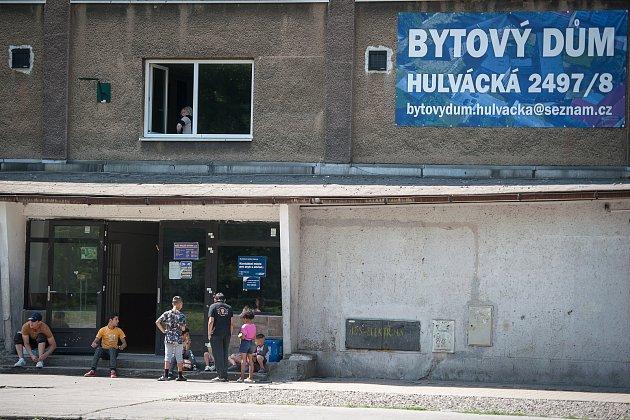 Ubytovna Soiva v Ostravě-Zábřehu.