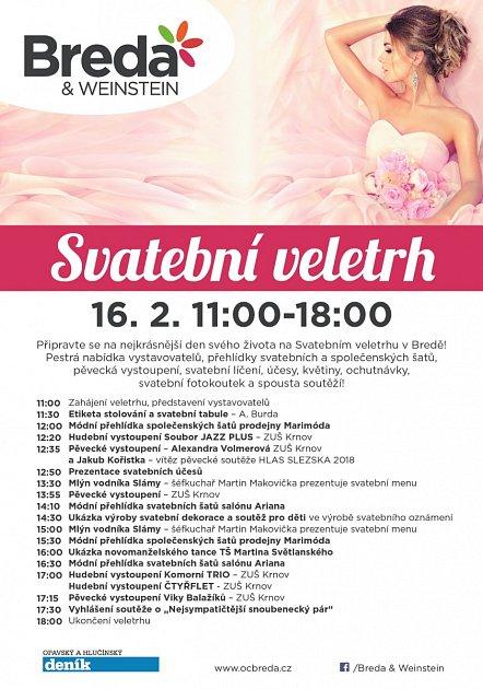 Program Svatebního veletrhu