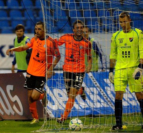 Gólman Baníku Ostrava, se při své ligové premiéře mezi třemi tyčemi rozhodně nenudil. Vutkání se Sigmou Olomouc se blýskl několika skvělými zákroky, porážku 1:2 ale neodvrátil.
