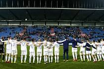 Závěrečná děkovačka. II. liga, 15. kolo:  Baník Ostrava - Sigma Olomouc 1:0