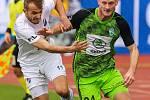 Utkání 25. kola první fotbalové ligy: FC Baník Ostrava - FK Mladá Boleslav, 16. března 2019 v Ostravě. Na snímku (zleva) Kuzmanovič Nemanja, Antonín Křapka.