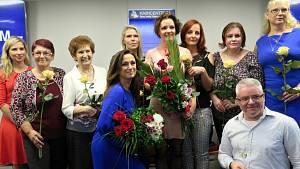 Kamila Hladká a hornické vdovy