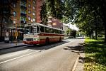 Jízdy historických vozidel Dopravního podniku Ostrava.