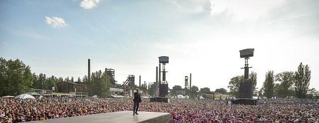 Ostravské festivaly Beats for love a Colours of Ostrava vDolní Oblasti Vítkovice. Ilustrační foto.