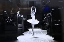 Terasu nákupního a zábavního centra FORUM Nová Karolina v Ostravě zdobí dvacet fotografií o velikosti 90x60 centimetrů, které představují zajímavý kontrast průmyslu a křehkého ženského těla v podání baletky Natálie.