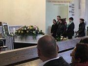 Pohřeb hudebnice Denisy Bílé v evangelickém kostele v Ostravě. Ženu 15. 9. 2017 ve Frýdku-Místku srazilo auto.