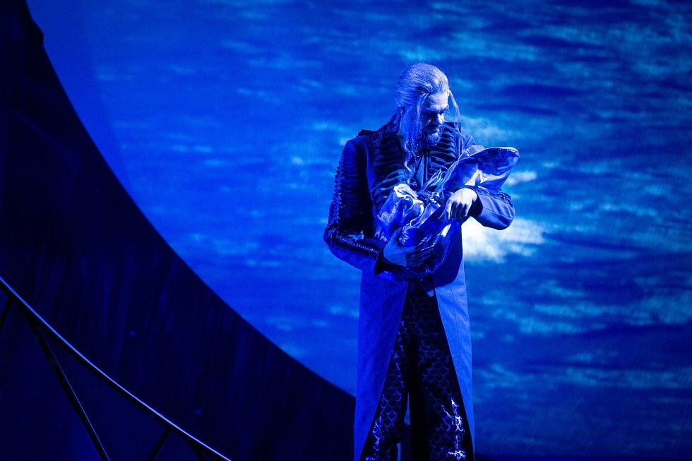 Divadelní představení Rusalka, 11. října 2019 v Ostravě. Na snímku Princ Luciano Mastro.