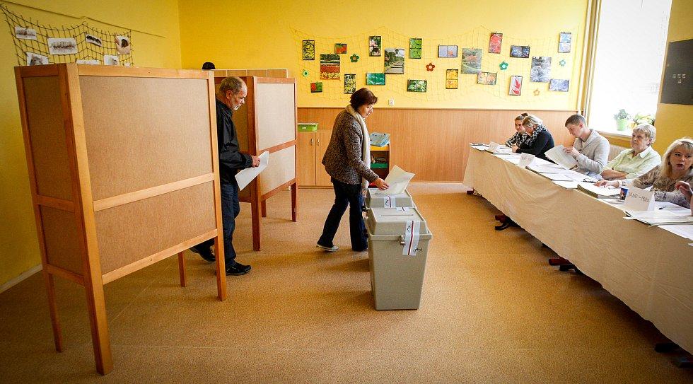 Komunální a senátní volby 2018 v Ostravě.