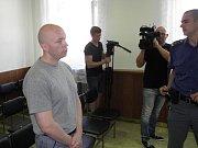 Marek Krumpoch u ostravského soudu.