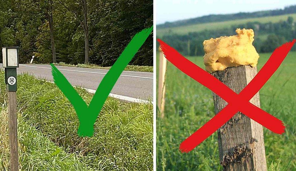 """Díky novým """"chytrým"""" pachovým ohradníkům se na vybraných nejrizikovějších úsecích našich silnic o polovinu snížil počet srážek s lesní zvěří."""
