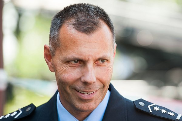 Ředitel Krajského ředitelství policie Moravskoslezského kraje Tomáš Kužel.