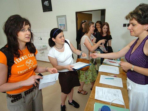 Přijímací zkoušky na Ostravské univerzitě