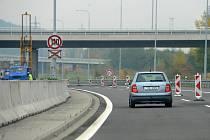 Reportéři Deníku tento týden projeli dálniční úsek mezi Bohumínem a Odrami. Snímky zachycují dopravní omezení, se kterými se setkali.