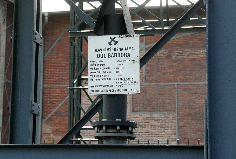 Dnešní podoba Dolu 1. máj, závodu Barbora - jeho historické objekty jsou dnes památky.