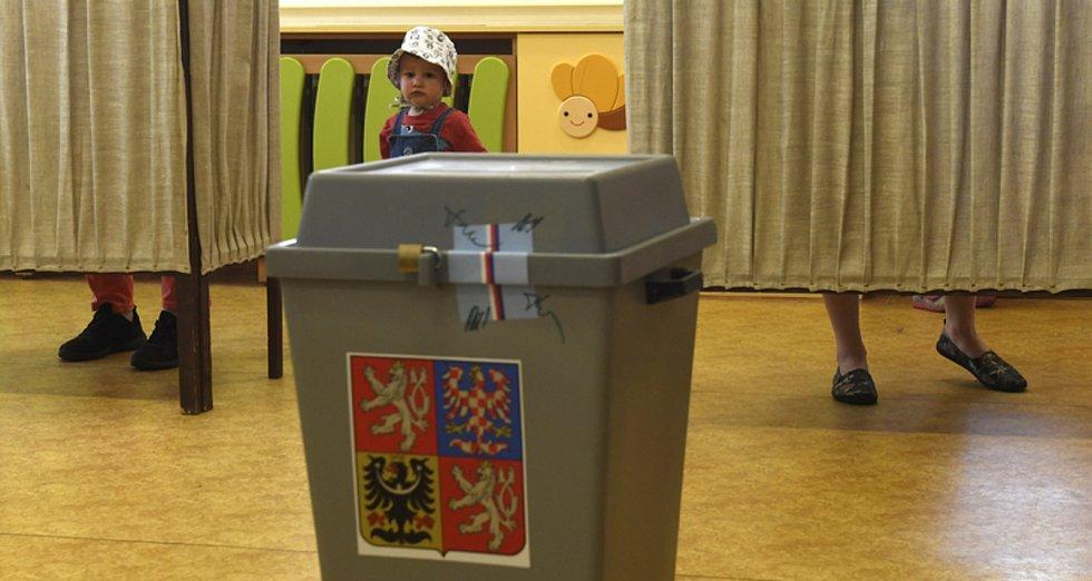 Volby do Evropského parlamentu 2019. Ilustrační foto.