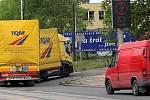 V podjezdu na Hlučínské ulici by díky novému signalizačnímu zařízení neměl uvíznout žádný nákladní automobil