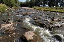 Řeka Odra v Ostravě
