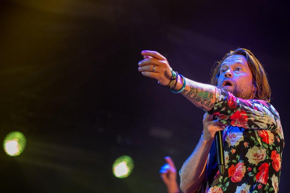 Hudební festival Colours of Ostrava 2019 v Dolní oblasti Vítkovice, 18. července 2019 v Ostravě.Na snímku Richard Krajčo.