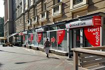 Přepadená banka na Hlavní třídě v Ostravě-Porubě
