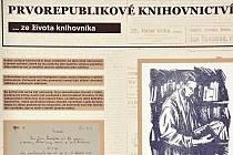 Prvorepublikové knihovnictví je název výstavy připravené u příležitosti chystaného 100. výročí zákona o veřejných knihovnách obecních ze dne 22. července 1919.