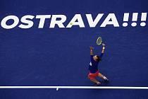 Pondělní úvodní den tenisového turnaje WTA v Ostravě. Na snímku Barbora Krejčíková. Foto: J&T Banka Ostrava Open