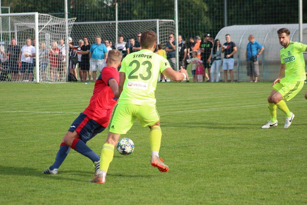 Unie Hlubina - MFK Karviná 0:6, utkání 2. kola MOL Cupu.