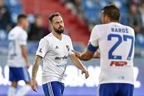 Milan Lalkovič v dresu Baníku Ostrava.