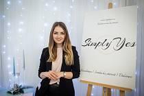 Michaela Nedomová a její svatební agentura Simply Yes nechyběly ani na Veletrhu Svatba na Černé louce, 1. února 2020 v Ostravě.