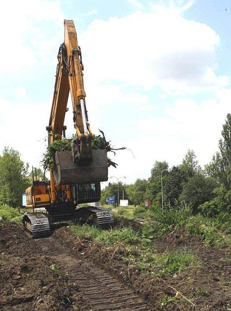 Ilustrační foto z výstavby silničního přivaděče
