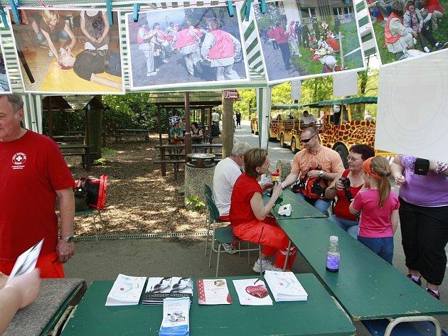 V areálu zoo se v den státního svátku konala i akce Den první pomoci