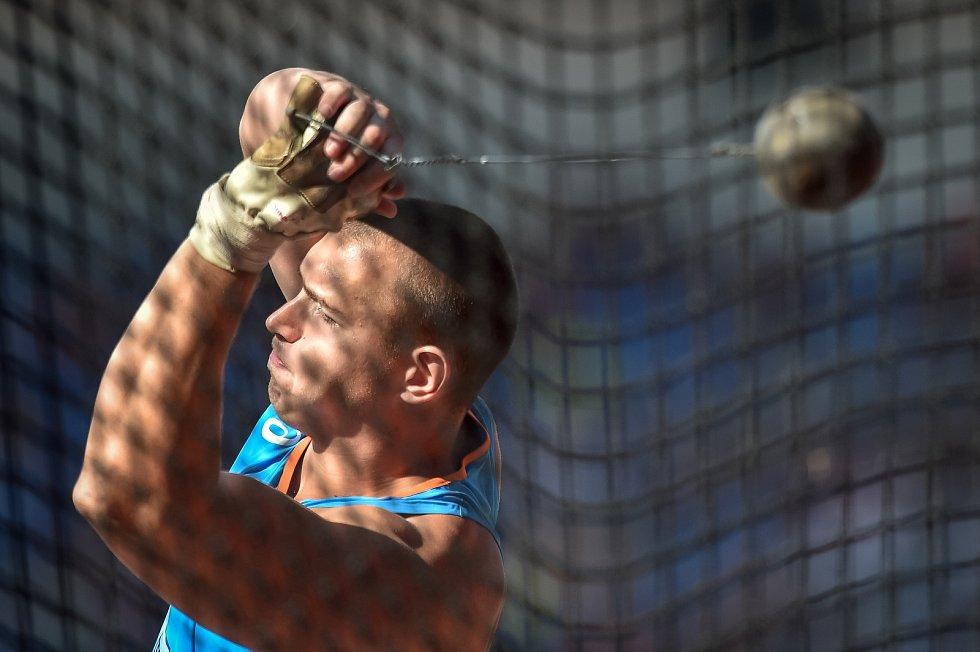 Kontinentální pohár 9. září 2018 v Ostravě.