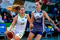 V minulém ročníku ligy basketbalistky SBŠ v hale Tatran letos v lednu porazily chomutovské Levhartice 69:59 (19:17, 37:32, 57:47). Podívejte se, kdo v utkání hájil ostravské barvy.