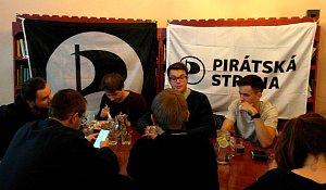 Volební štáb Pirátů,  Sádrový ježek, Moravská Ostrava