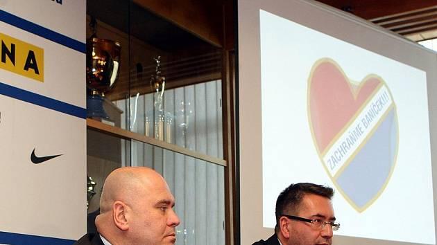 Baník i stadion Bazaly nyní patří společnosti SMK Reality Invest, jejímiž majiteli jsou podnikatel Libor Adámek (na snímku vlevo) a společnost PAM market, kterou zastupuje Petr Šafarčík (vpravo).