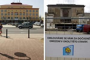 Kulturní domy Akord (vlevo) a Poklad. Ilustrační foto.