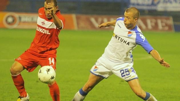 Spartak Moskva potvrdil na Bazalech roli favorita a postup do další fáze Poháru UEFA má před domácí odvetou na dosah.