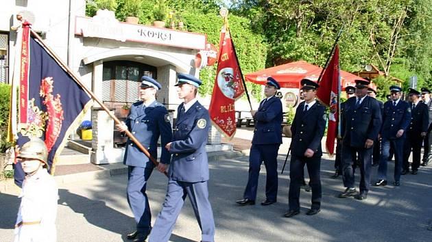 Dobrovolní hasiči z Hošťálkovic