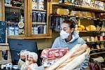 Snímek období, kdy svět zasáhla pandemie koronaviru. 16. březen 2020, Frýdek-Místek